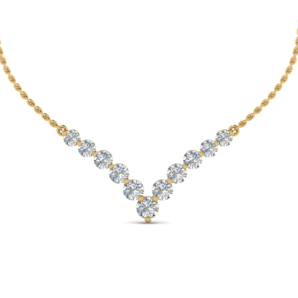 Top Diamond Necklace Designs For Women