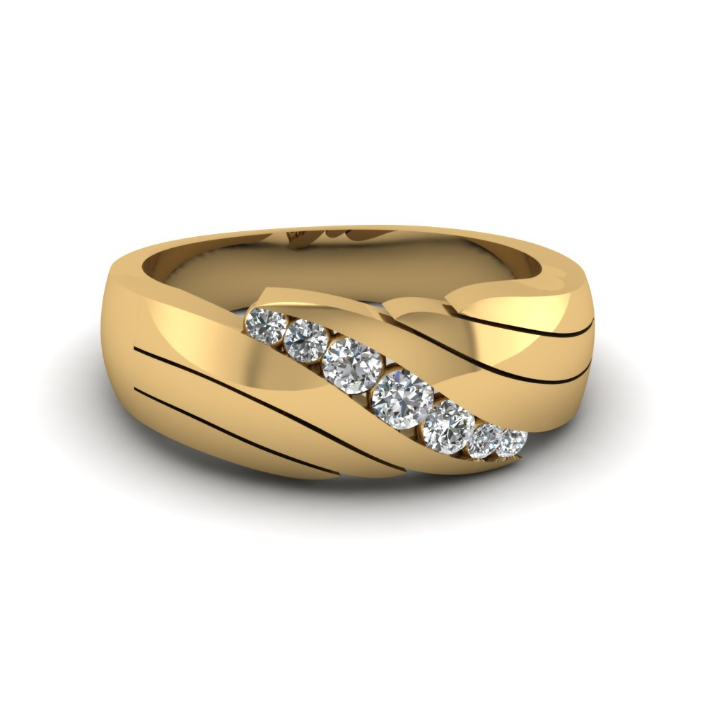 Latest trends on gold rings for mens of classy males for Mens wedding rings yellow gold