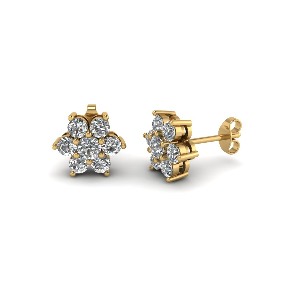 Beautiful Earrings For Women Gold Plated With Cubic Zircon Luxury Drop Earring