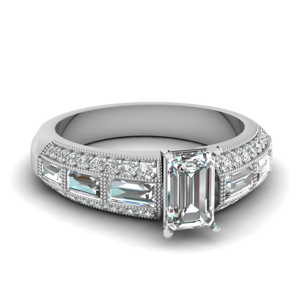 top 20 emerald cut rings style fascinating diamonds