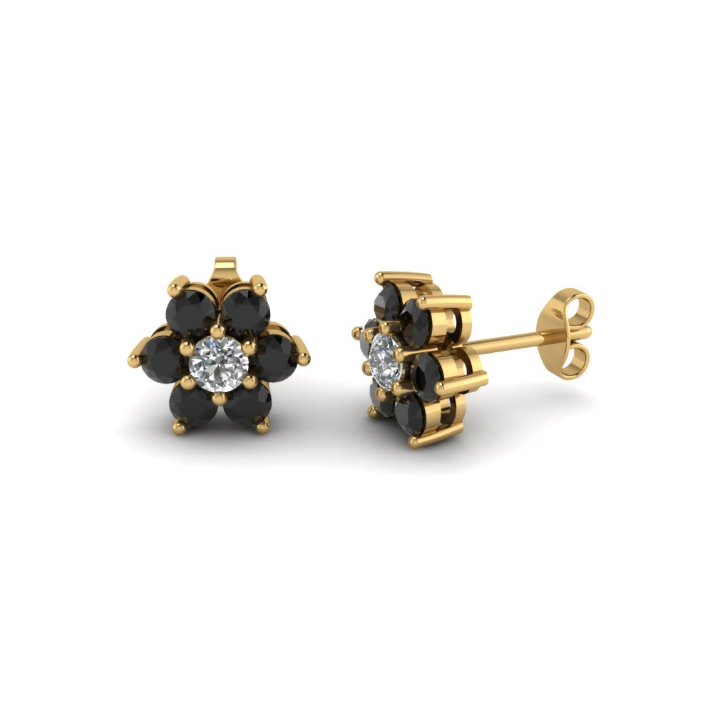 Luxury Buy Floral Pearl Gold Stud Earring For Women Online