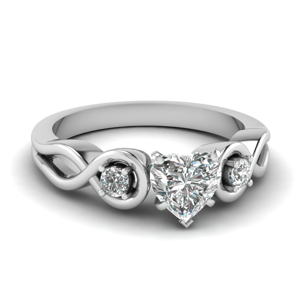 amour infinity ring fascinating diamonds