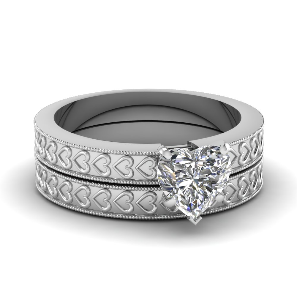 cherished heart set fascinating diamonds