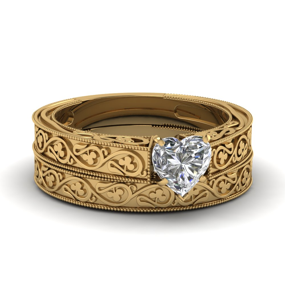 engraved milgrain wedding band fascinating diamonds