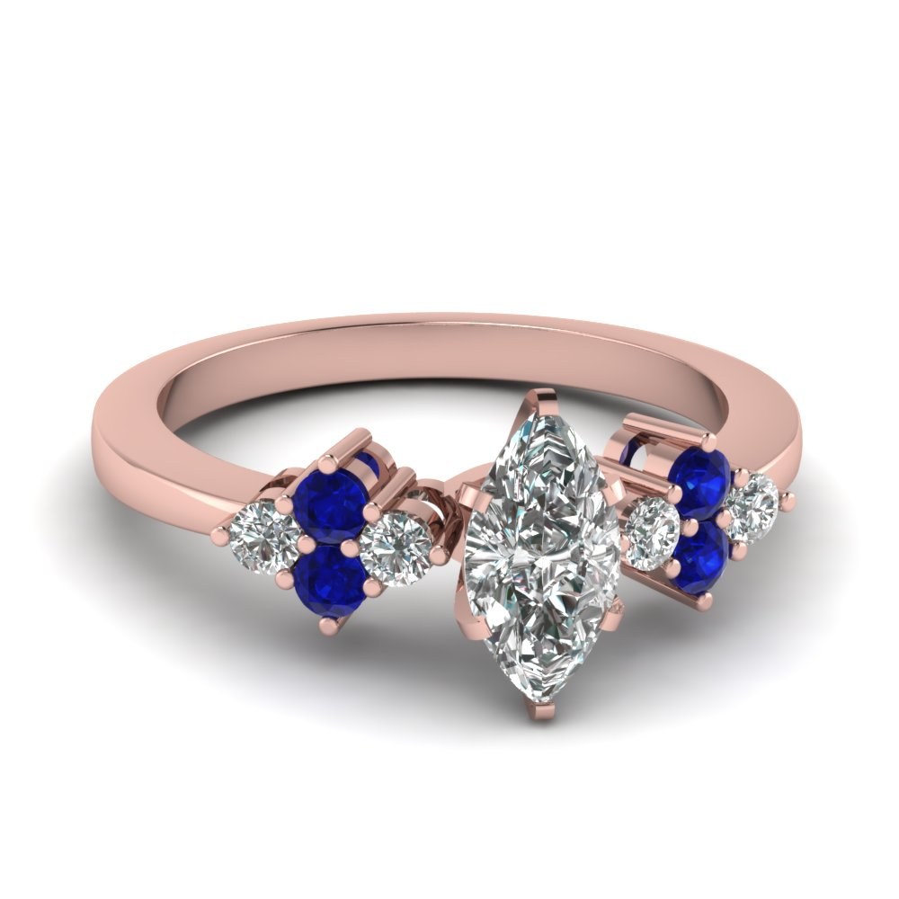 Rose Gold accented Diamond Ring