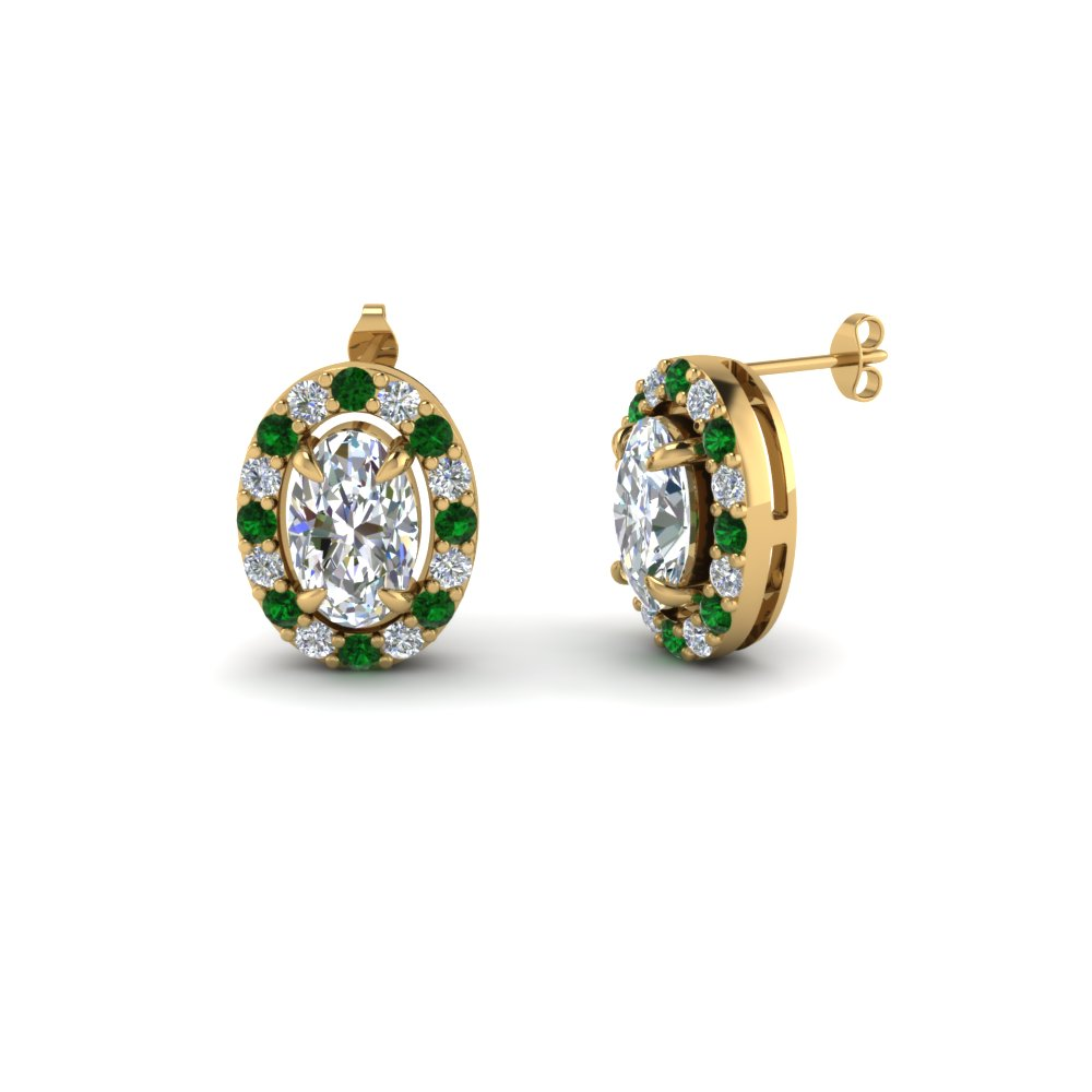 green bridal cz wedding earrings bridesmaid gifts stud simpleroute lrm ideas emerald export products