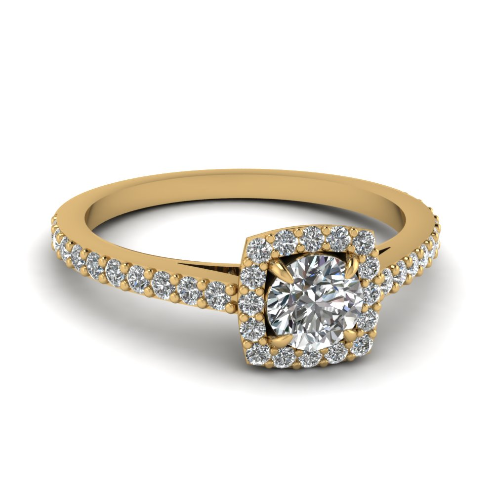 Cheap Halo Engagement Rings