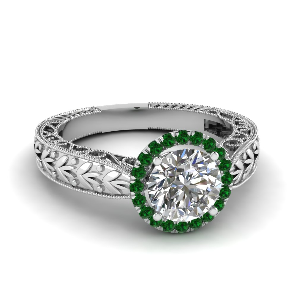band antique cut engagement ring filigree set diamond wedding art pin rings european deco