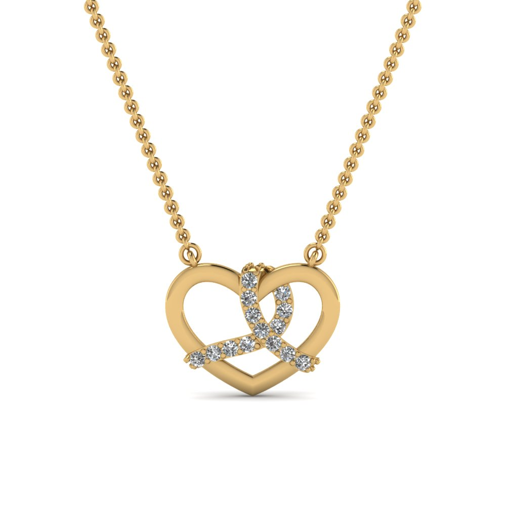 Find Deals On Diamond Heart Pendant Necklaces | Fascinating Diamonds