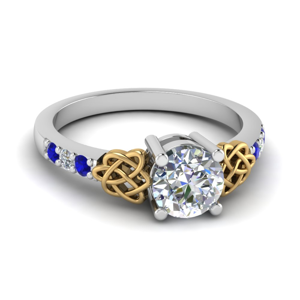 Irish Celtic Engagement Ring