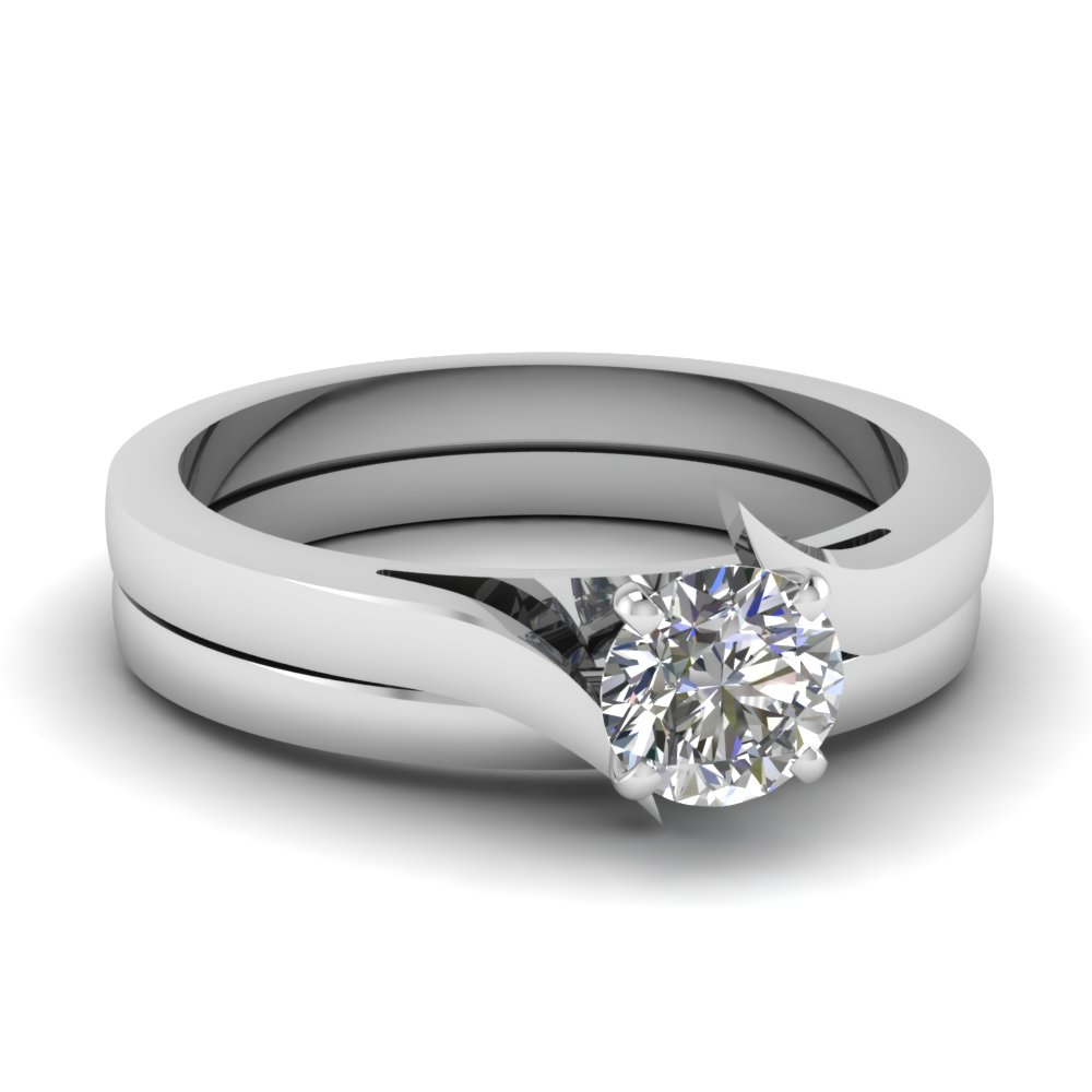 simple wedding rings fascinating diamonds