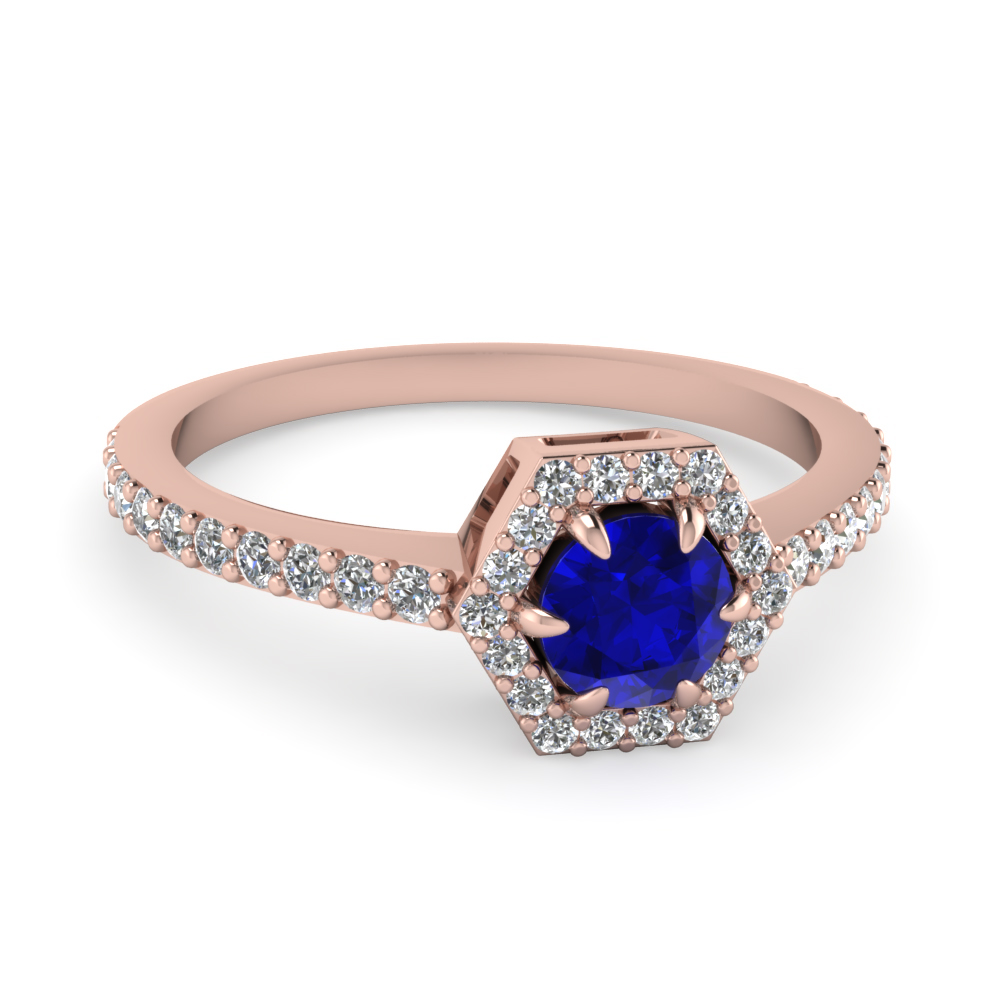 classic blue ring cubic promise cute rings zirconia sapphire product