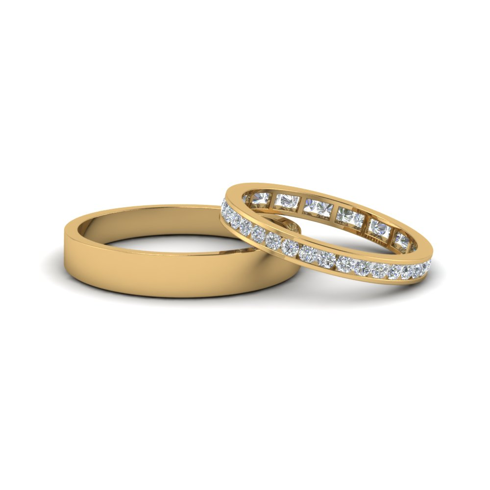 walmart wedding rings sets for him and her weddingsringsnet With weddings rings for her