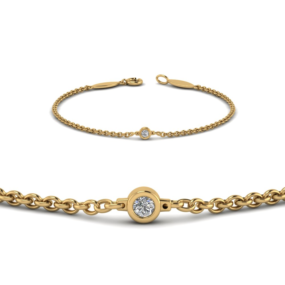 gold bracelet and diamond by original birthstone silver single embers product champagne april gemstone