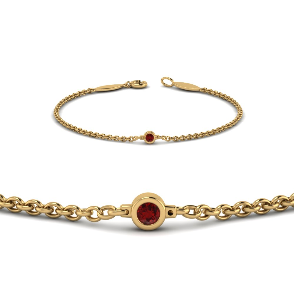 world link ruby bracelet n boutique shop red class fashions cuban exclusive