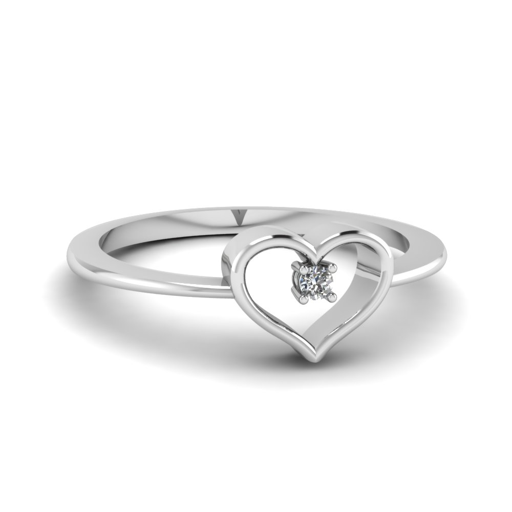 Heart Promising Diamond Ring